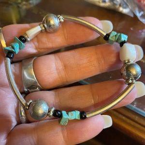 Beautiful turquoise bracelet